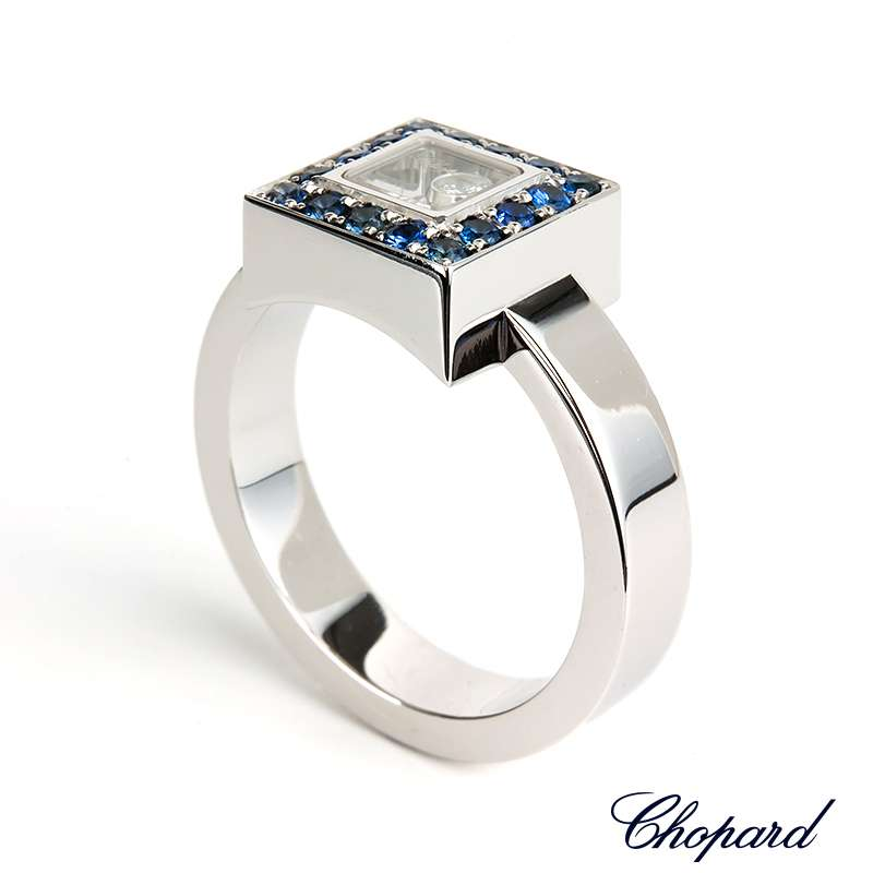 Chopard happy diamond round 1 P diamond ring 82/2904-20