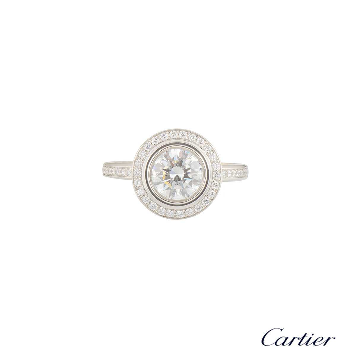 63b6ceb93a0 Cartier D Amour Diamond Platinum