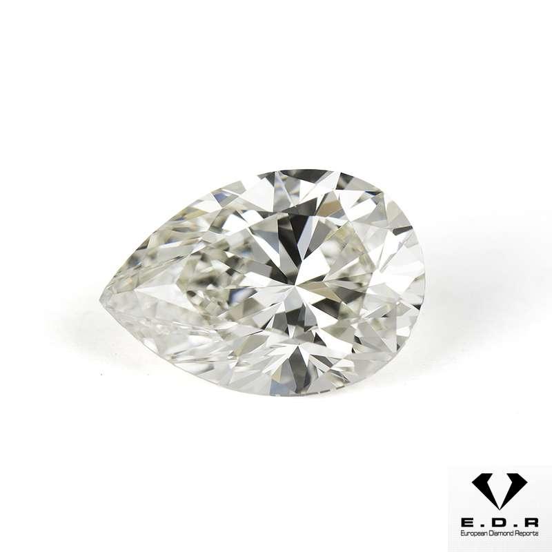 Fancy Pear Shaped Diamond 2 67ct J Vs1 Rich Diamonds Of