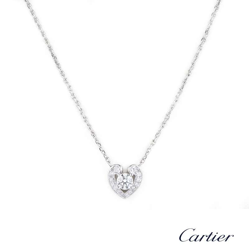 Cartier diamond pendant in platinum 051 gvs1 n3018300 rich cartier diamond pendant in platinum 051 gvs1 n3018300 aloadofball Images