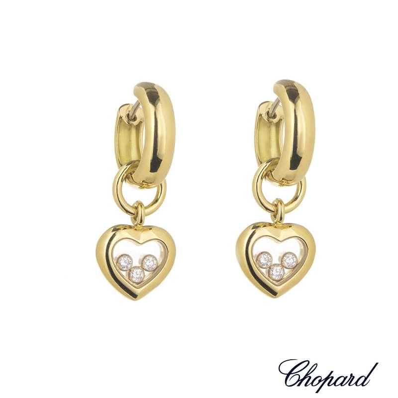 Часы Happy Diamonds Icons Round Lapis Lazuli Chopard Happy