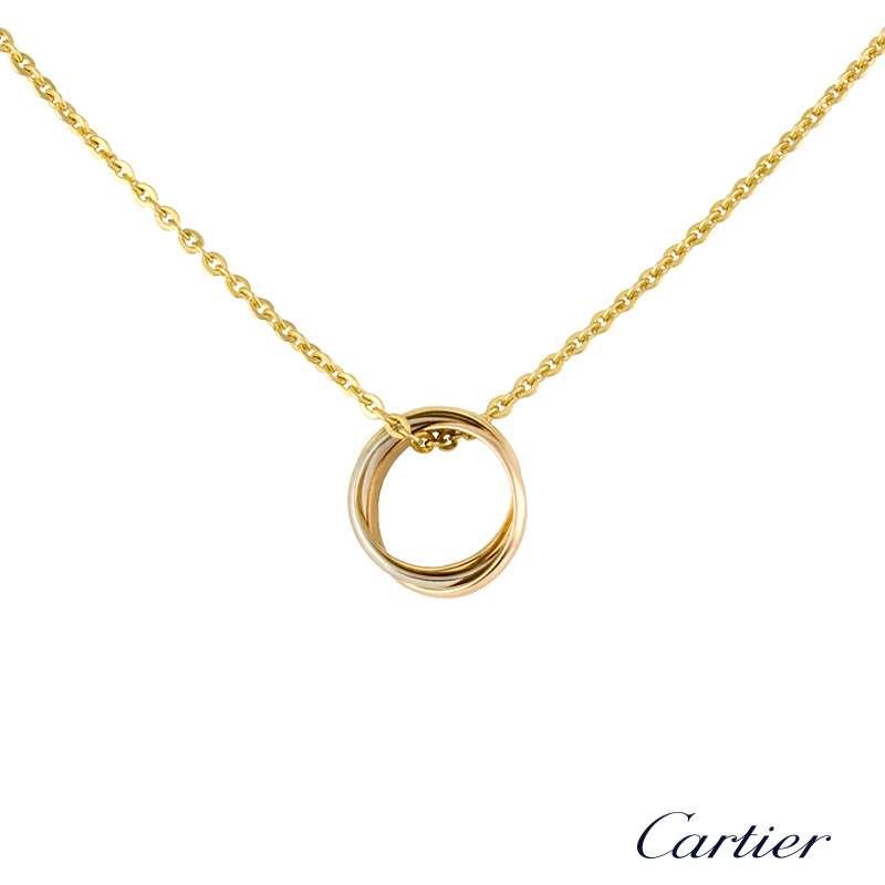 Cartier 18k three colour gold baby trinity pendant b7223900 rich cartier 18k three colour gold baby trinity pendant b7223900 aloadofball Gallery