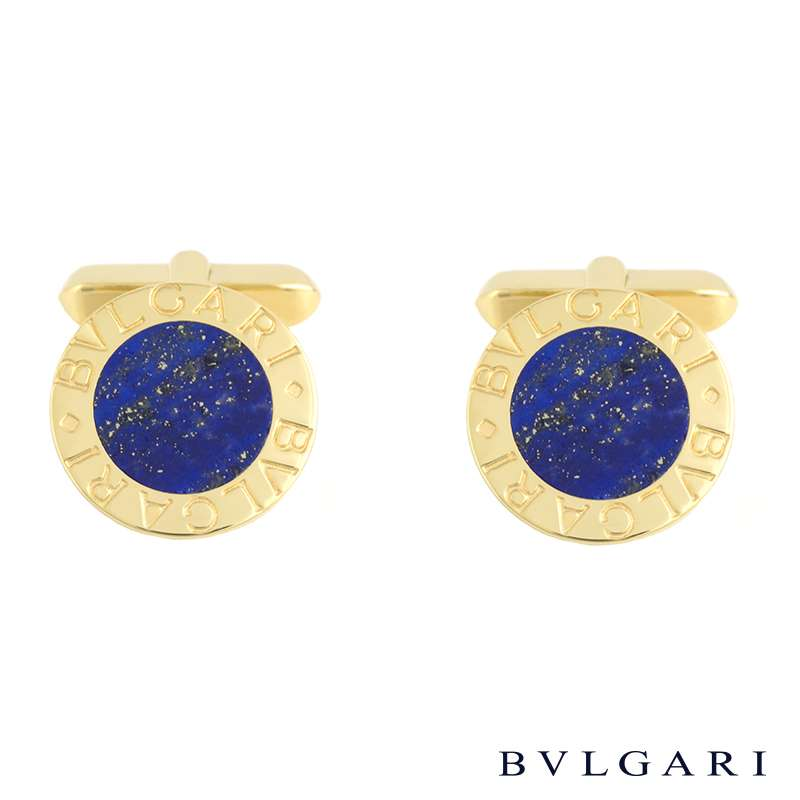 Bvlgari Bvlgari 18k Yellow Gold Blue Lapis Lazuli