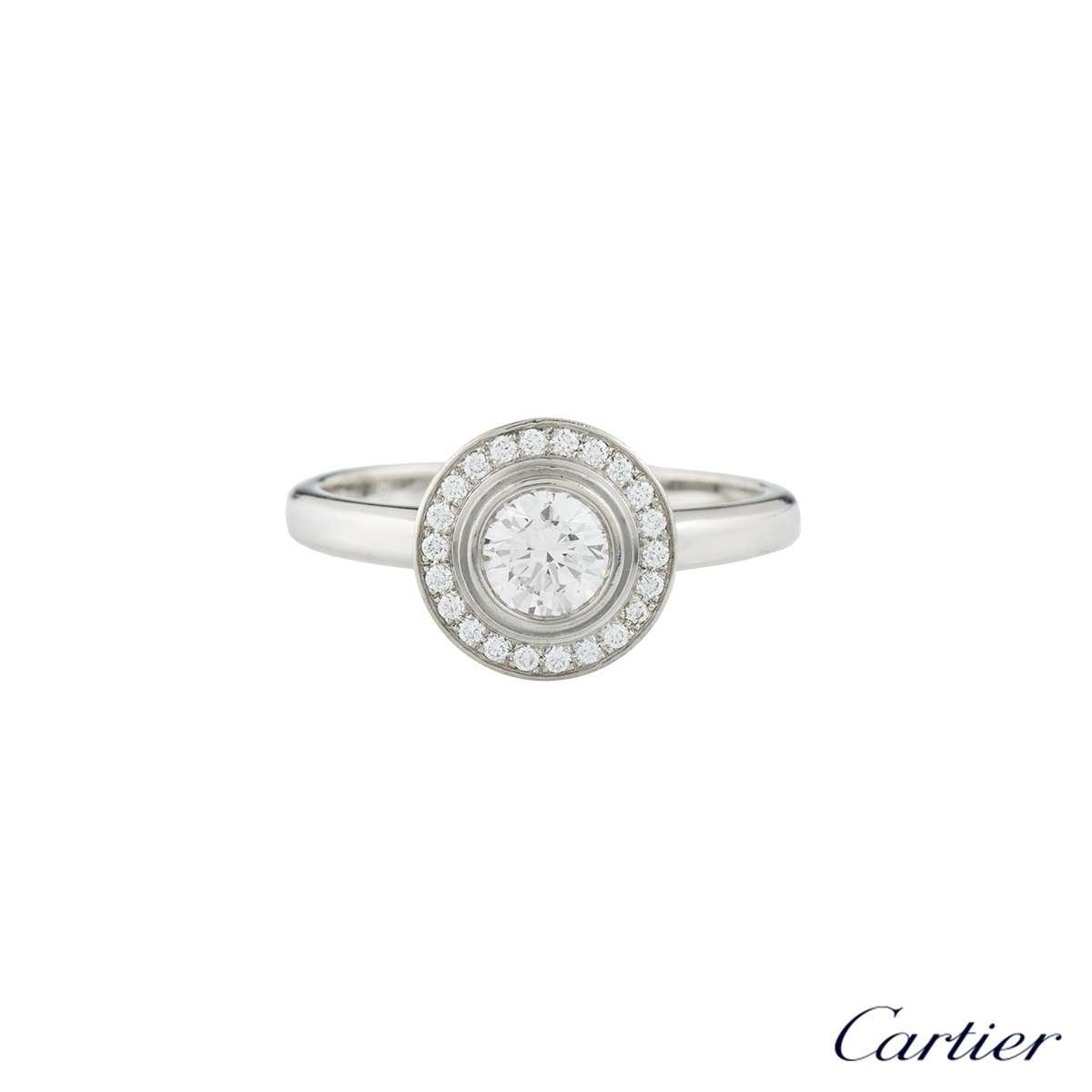 dfd6d937400 Cartier Damour Diamond Platinum