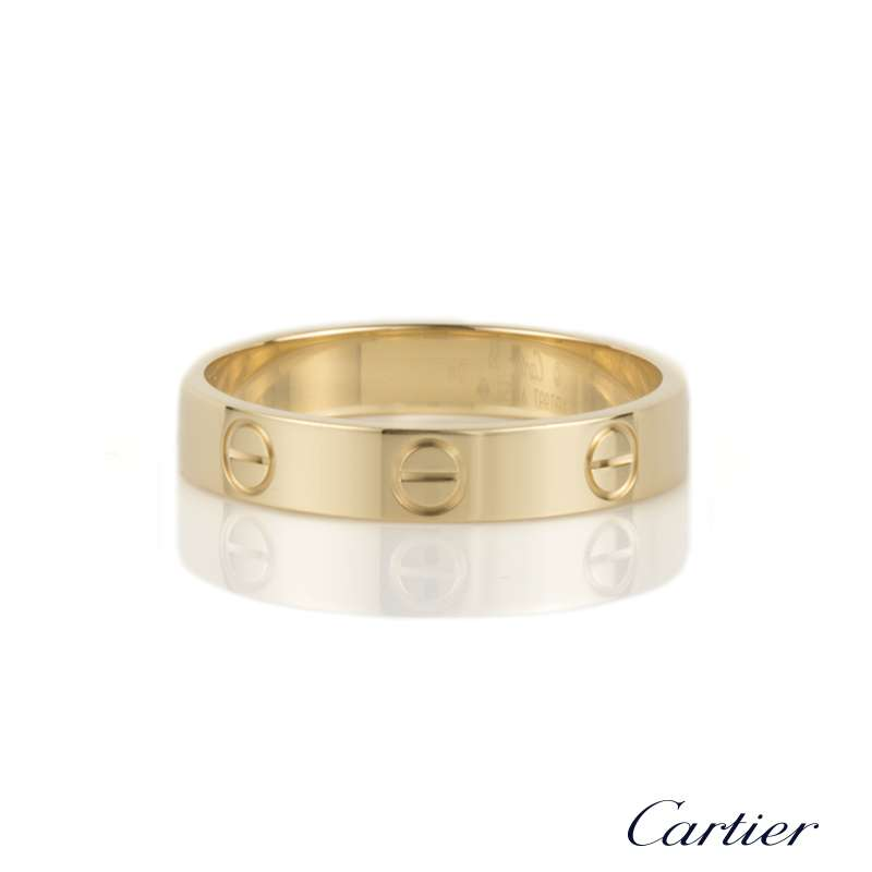 Cartier 18k yellow gold love wedding band size 55 bp b4085000 cartier 18k yellow gold love wedding band size 55 bp b4085000 junglespirit Image collections