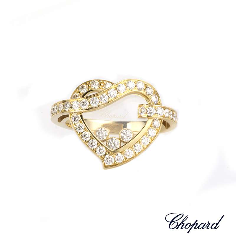 Chopard Ring Happy Diamonds Icons Round 82A017-0111